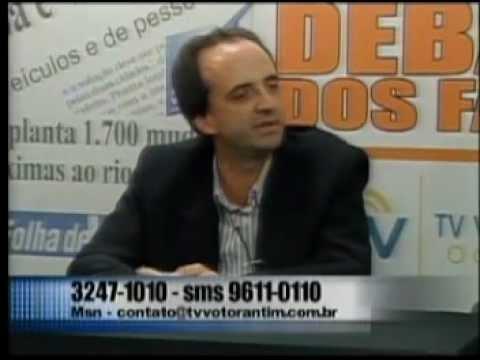 Debate dos Fatos na TV Votorantim 19 10 12 parte 1