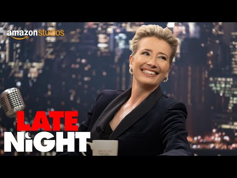 Late Night - Official Trailer | Amazon Studios