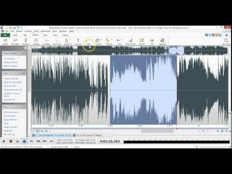 Wavepad tutorial