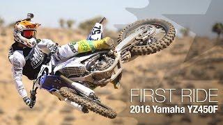 9. 2016 Yamaha YZ450F First Ride - MotoUSA