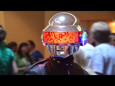 Homemade Daft Punk Thomas Helmet