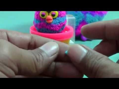 Видео как сделать из пластилина фёрби