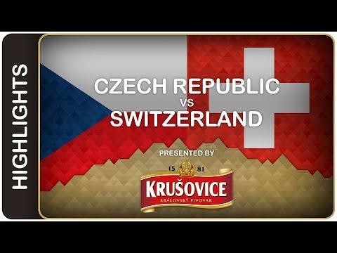 Video : Hokejisté porazili Švýcarsko 5:4 , ve čtvrtfinále narazí na USA