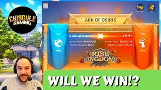MY ALLIANCE (2.4B Power) - ARK OF OSIRIS with battle reports | Rise of Kingdoms