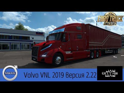 Volvo VNL 2019 v2.22 ETS2 1.36