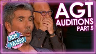 Video America's Got Talent 2019 | Part 5 | Auditions | Top Talent MP3, 3GP, MP4, WEBM, AVI, FLV Juli 2019