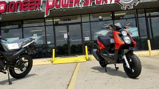 1. Icebear 150cc scooter vision model test drive | review and overview