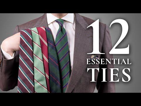 12 Ties Every Man Should Invest In - Essential & Best Men's Neckties