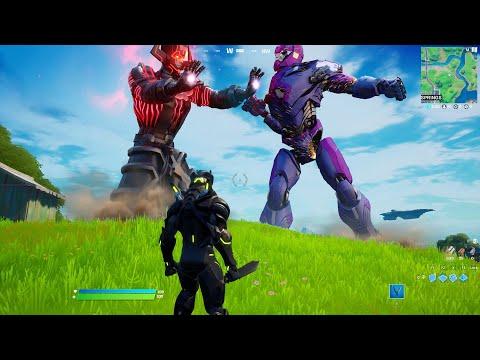 Galactus Boss LIVE EVENT in Fortnite (Nexus War)