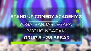 Video Stand Up Comedy Academy 3 : Yoga, Banjarnegara - Wong Ngapak MP3, 3GP, MP4, WEBM, AVI, FLV Januari 2018