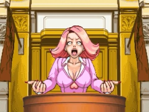 Phoenix Wright: Ace Attorney - April May - Press & Breakdown