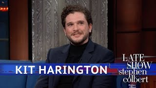 Video Stephen Guesses 'GoT' Endings At Kit Harington MP3, 3GP, MP4, WEBM, AVI, FLV Maret 2019