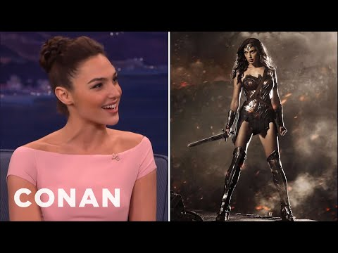 Gal Gadot Has No Time For Online Haters  - CONAN on TBS