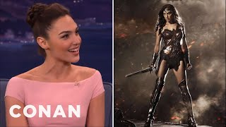 Video Gal Gadot Has No Time For Online Haters  - CONAN on TBS MP3, 3GP, MP4, WEBM, AVI, FLV Juni 2018