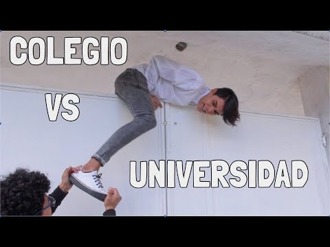 COLEGIO VS UNIVERSIDAD | KikeJav (видео)