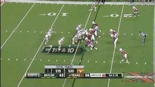 Lache Seastrunk vs Texas (2012)
