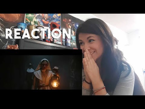 The Nun TRAILER REACTION!!