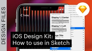 iOS Design Kit: How to use in Sketch