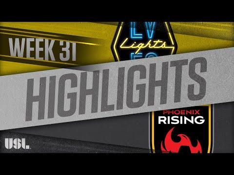 Las Vegas Lights - Аризона Юнайтед 5:2. Видеообзор матча 11.10.2018. Видео голов и опасных моментов игры