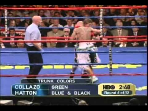 ricky hatton - 5/13/06. Ricky 'Hitman' Hatton vs Luis Collazo for Collazo's WBA welterweight title.