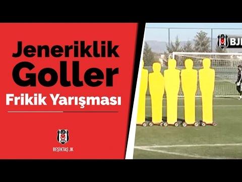Frikik Yarışmasında Jeneriklik Goller - BJK TV