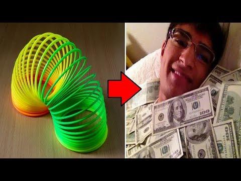 9 INVENTIONS STUPIDES QUI ONT RENDUES RICHES LEURS INVENTEURS ! (видео)