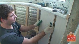 Отделка лоджии пластиковыми панелями: пошаговая инструкция по утеплению стен и монтажу панелей ПВХ