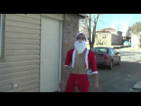 Santa Breaks Up Beer Pong   Funny Video