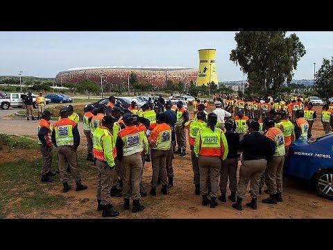 Güney Afrika büyük anma törenine hazırlanıyor