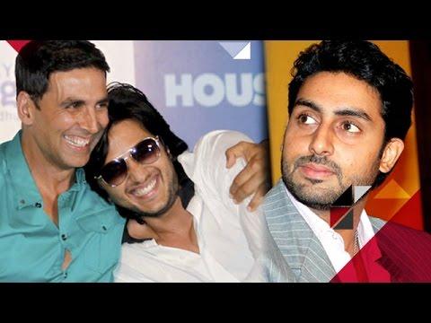 Akshay Kumar & Riteish Deshmukh CONVINCE Abhishek Bachchan