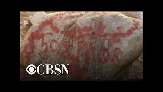 Plymouth Rock among Boston landmarks vandalized