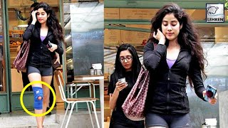 Jhanvi Kapoor Gets INJURED While Taking Dance Lessons? | LehrenTV