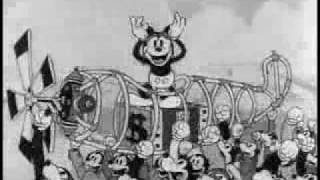 Mickey Mouse - The Mail Pilot - 1933