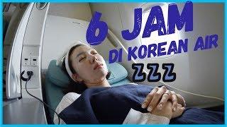 6 JAM DI KOREAN AIR (Ngapain aja? Skincare Routine + UNBOXING HADIAH DARI GRACE!)