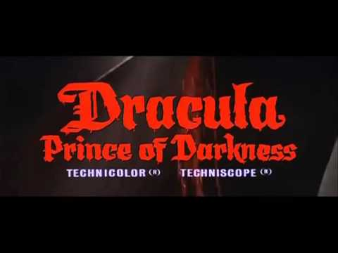 DRACULA PRINCE OF DARKNESS TRAILER 1966
