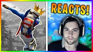 Dakotaz Reacts To My Fortnite Thug Life Compilations (he subscribed)
