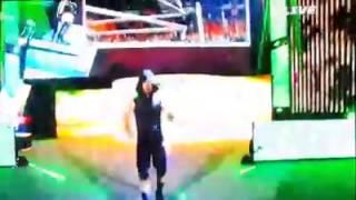 StephenAmell's entrance WWE Summer Slam