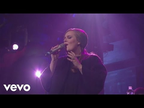 Adele – Lovesong (Live on Letterman)