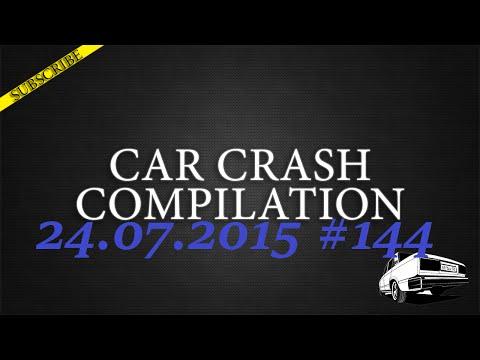 Car crash compilation #144 | Подборка аварий 24.07.2015