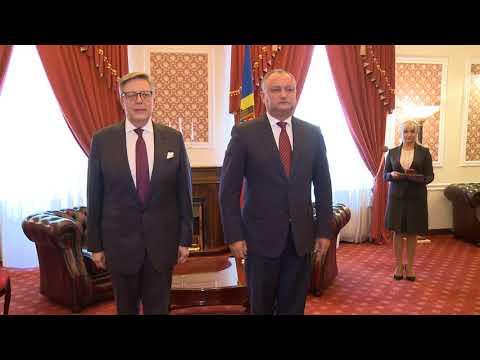 Igor Dodon a avut o întrevedere cu Pirkka Tapiola