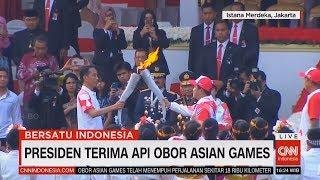 Video Istana Sambut Obor Asian Games, Diserahkan ke Presiden Jokowi #BersatuIndonesia #17an MP3, 3GP, MP4, WEBM, AVI, FLV Agustus 2018