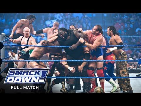 FULL MATCH - World Heavyweight Title 20-Man Battle Royal: SmackDown, July 20, 2007