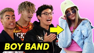 Video A Boy Band Styled Me For A Week Feat. PRETTYMUCH MP3, 3GP, MP4, WEBM, AVI, FLV Agustus 2018