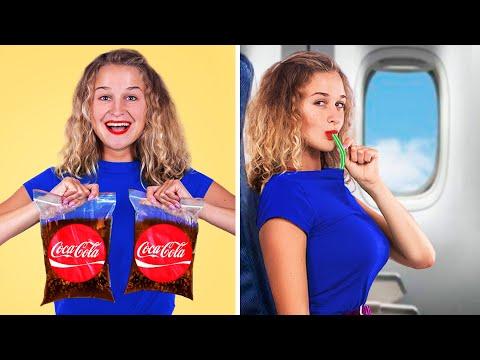15 Cara Menyelundupkan Makanan Ke Dalam Pesawat!