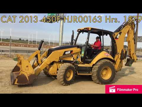 CATERPILLAR BACKHOE LOADERS 450F equipment video DyQ4ijCQ5_s