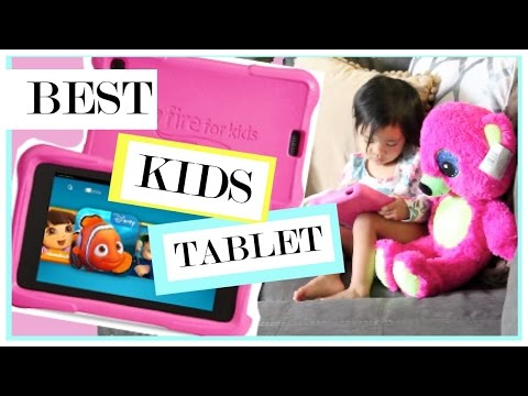 Best Tablet For Kids | Amazon Fire Kids Edition Review