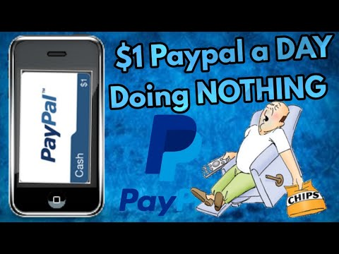 How To Make $1/£1 Paypal Per DAY Doing NOTHING