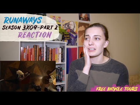 "Runaways Season 3 Episode 9 ""The Broken Circle"" REACTION Part 2"