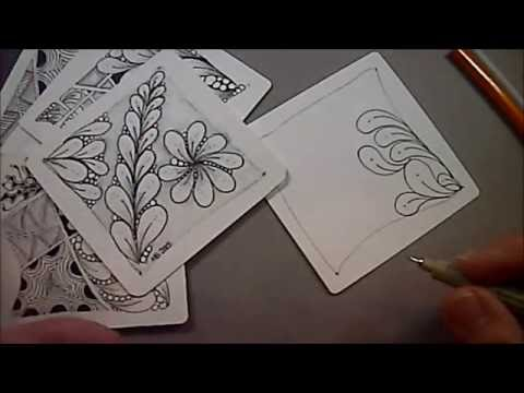 Flux Zentangle® Tangle with Melinda Barlow, CZT