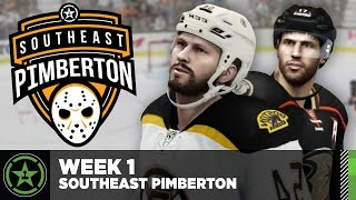 Achievement Hunter Hockey League: Week 1 - Southeast Pimberton Division